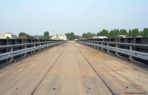 Мост через реку Юг готов к сдаче